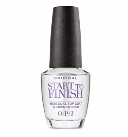 OPI Start To Finish Base Coat, Top Coat & Strengthener 3 in 1 Treatment