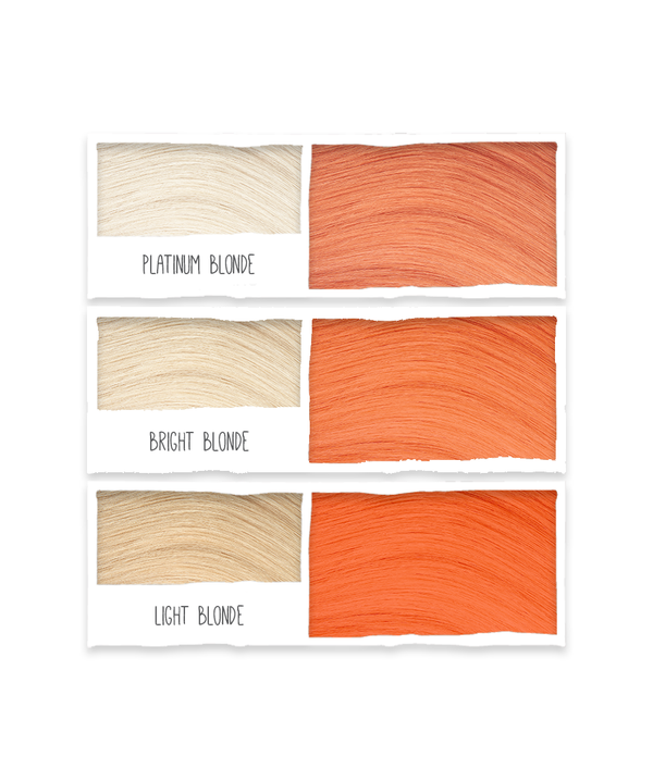 Tints of Nature Bold Colours - Orange - Semi Permanent Hair Colour Naturally Derived Ingredients