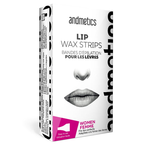 Andmetics At Home Pre-Cut Wax Strips For Lip