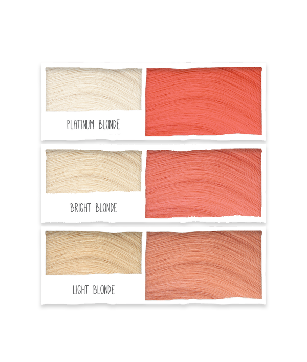 Tints of Nature Rose Gold Semi Permanent Hair Colour Swatch