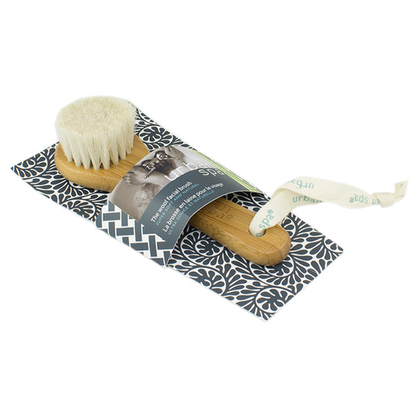 Urban Spa The bamboo and wool facial brush