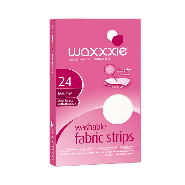 Waxxxie Washable Fabric Strips For Hair Removal