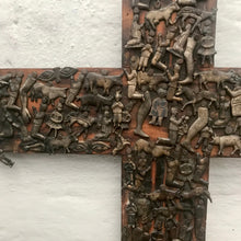 Load image into Gallery viewer, Antique Milagro Cross