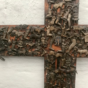 Antique Milagro Cross