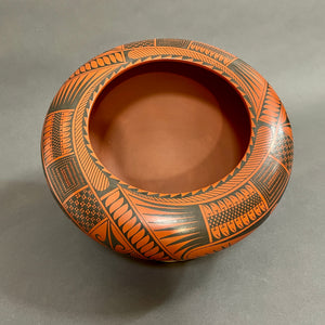 Mata Ortiz Hand-built and Burnished Low Fire Pottery