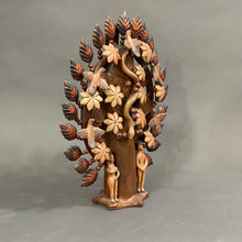 Load image into Gallery viewer, Adam & Eve Tree of Life Hand-built Low fire Ceramic