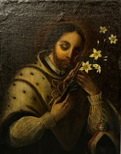 Load image into Gallery viewer, San Juan Nepomuceno - 18th Cent. - Oil on Canvas