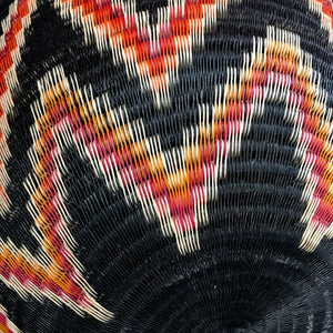 Wounaan Natural Fiber Basket and Natural Dyes #50 / Colombia