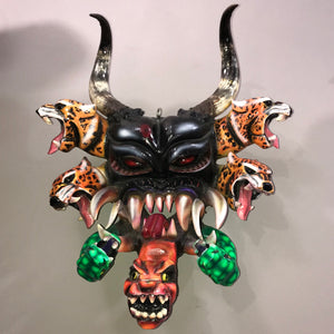 Devil Dance Mask From Teloloapan Guerrero