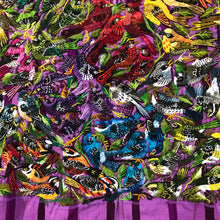 Charger l'image dans la galerie, Huipil Purple background Very detailed birds