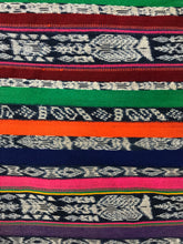 Load image into Gallery viewer, Rebozo/Centro de Mesa Totonicapan Guatemala Indigo with Aniline Colors