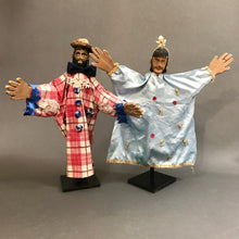 Load image into Gallery viewer, Pair of Vintage Hand Puppets (Títeres) from the Sierra Puebla