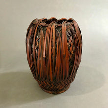 Load image into Gallery viewer, Japanese Meiji Era Ikebana Bamboo Basket