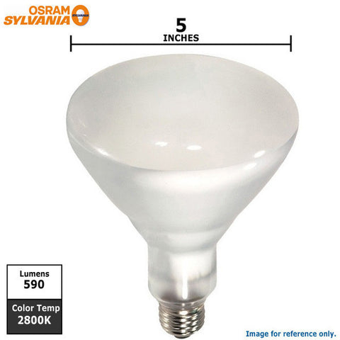 Osram Sylvania 50w BR40 Flood FL60 SuperSaver Halogen Light Bulb