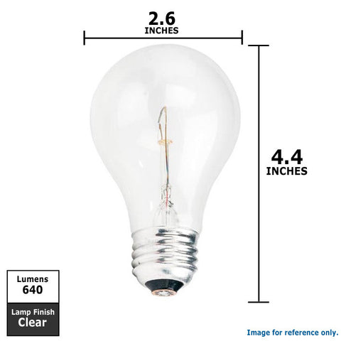 A-Shape A21 2850k Clear Traffic Signal bulb