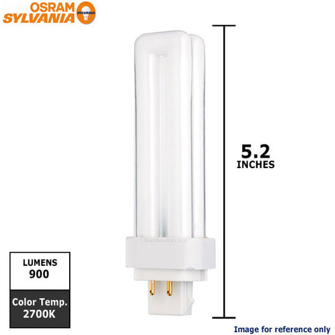Osram Compact Fluorescent Bulb with 4-Pin Base