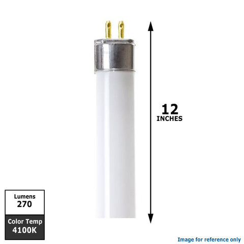 Cool White 4100k 12 inch Fluorescent Tube Light