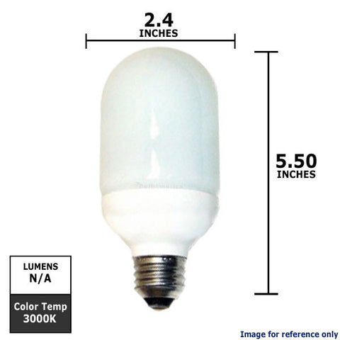 Bullet Shaped CFL