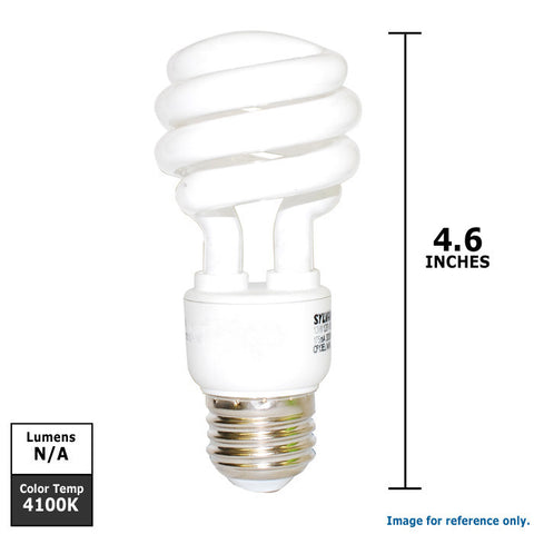 OSRAM 13W 120V Mini Twist E26 CFL Light Bulb