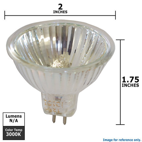 Osram FMW lamp MR16 Tru-Aim Titan 35w FG FL35 Halogen Light Bulb