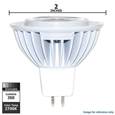Osram 6w 12v MR16 Dimmable Led GU5.3 Flood FL36 2700k lamp