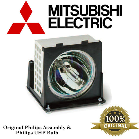 Mitsubishi WD62327 Rear Projector TV Assembly With OEM Bulb And Original  Housing