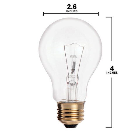 A21 E26 Base 69 watts Bulb