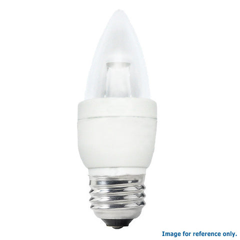 Osram Sylvania 4w 120v B10 E26 Medium Blunt 2500k LED Lamp