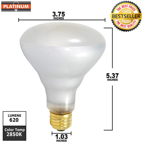 65w BR30  FL 120V  Medium Base incandescent light bulb