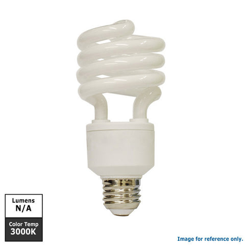 SYLVANIA 13 watts Soft White Spiral compact fluorescent light Bulb
