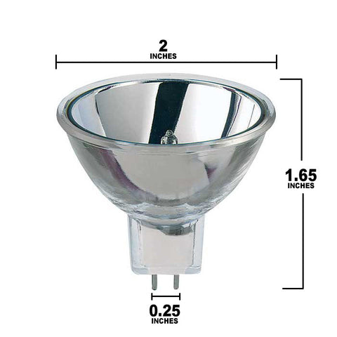Dimensions for EFR-5 HLX Bulb