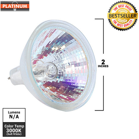 PLATINUM EXN 50w MR16 FL40 12V FG light bulb