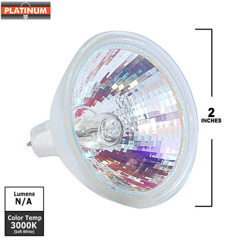PLATINUM EXT 50w MR16 NSP12 12V w/FG light bulb