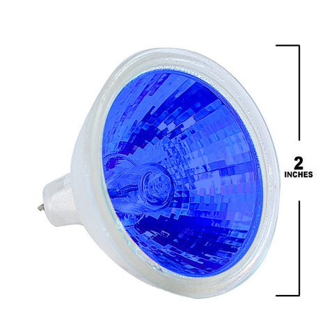 PLATINUM EXT/B - MR16 50w Colored in Blue light bulb