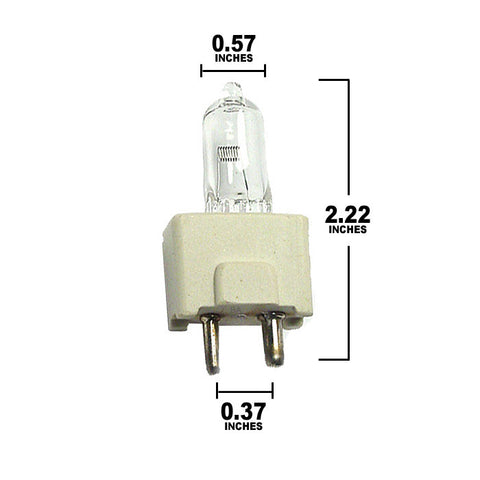 Dimensions for FDT bulb