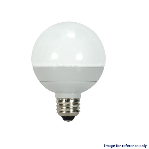 8w Dimmble LED Globe lamp - OSRAM SYLVANIA E26 base G25 3000K Bulb