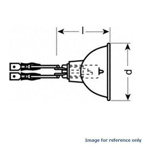 Osram 62w 6.6A 62 MR16 64336 Airfield Bulb