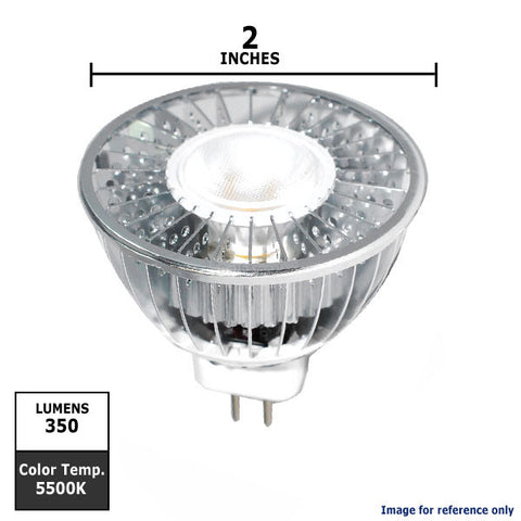 PLATINUM 6W LED MR16 Dimmable 30 Daylight White Lamp
