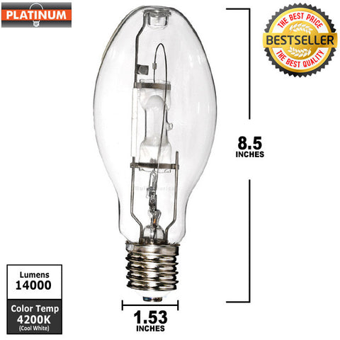 Metal Halide 175w Bulb with E39 mogul base