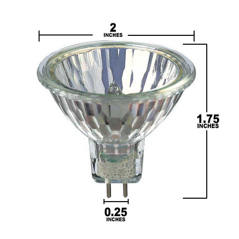 MR16 IR Spot 10 Bulb Dimensions