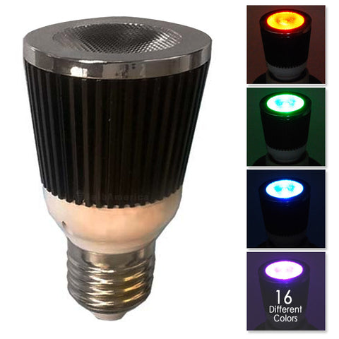 PLATINUM 5W LED RGB Sound Sensitive Music Changer