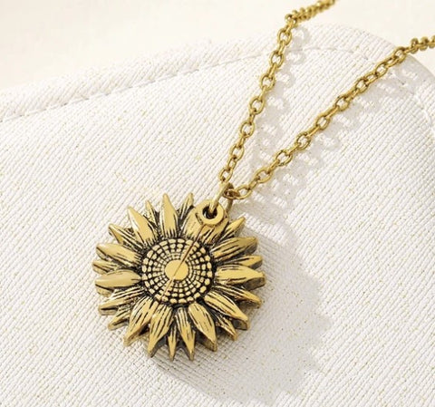 Wow Jewelry Shop You Are My Sunshine Sunflower Necklaces