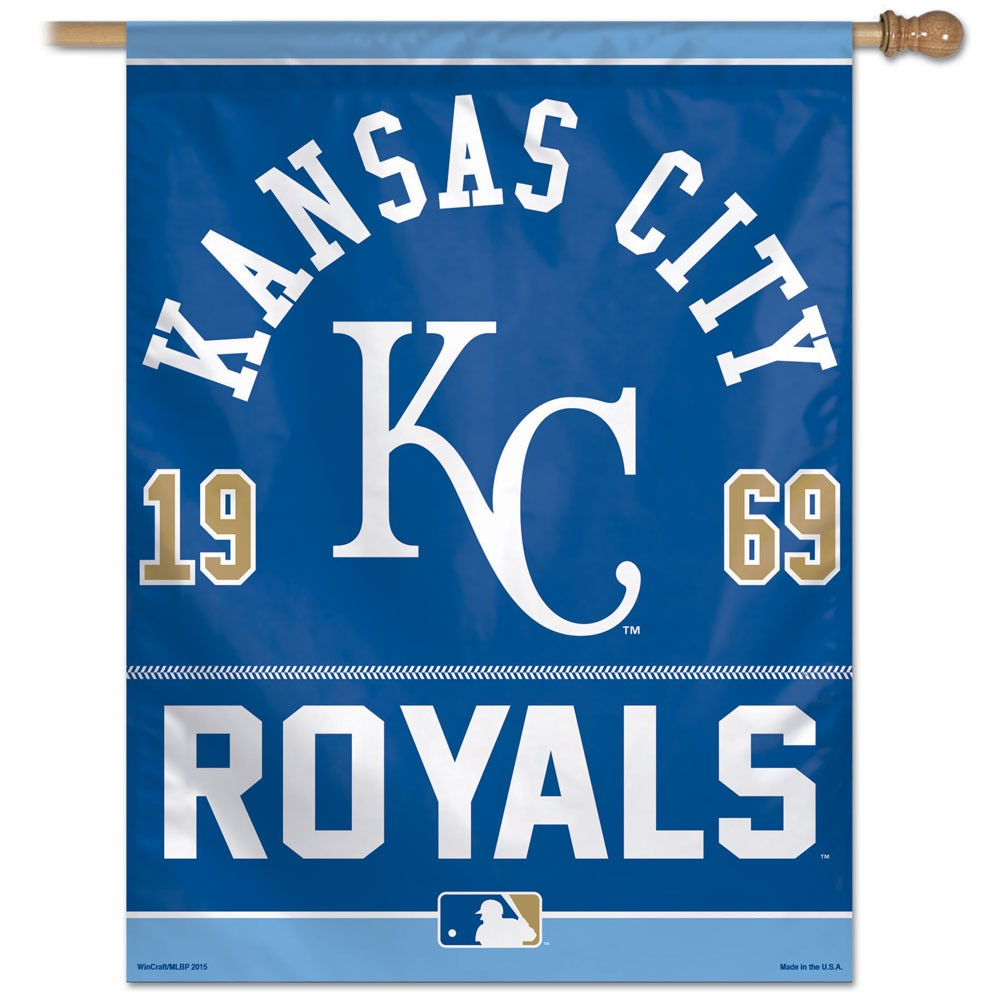 Load image into Gallery viewer, Kansas City Royals House Flag; Polyester