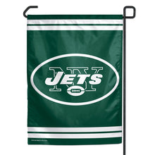 Load image into Gallery viewer, New York Jets Garden Flag; Polyester