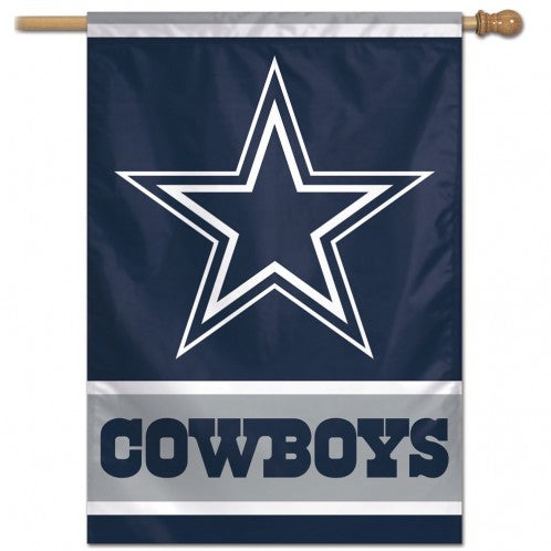 Load image into Gallery viewer, Dallas Cowboys House Flag; Polyester