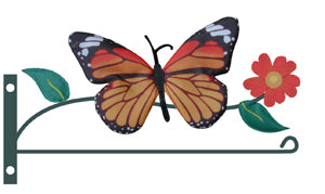 Load image into Gallery viewer, Butterfly Mailbox Garden Flag Bracket