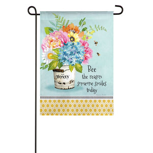 Bee the Reason Garden Flag