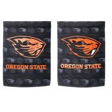 Load image into Gallery viewer, Oregon State University Beavers Double Sided Printed Garden Flag; Polyester