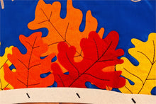 "Load image into Gallery viewer, ""Hello Fall Basket"" Applique Seasonal House Flag; Polyester"