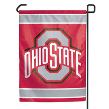 Load image into Gallery viewer, Ohio State Buckeyes Garden Flag; Polyester